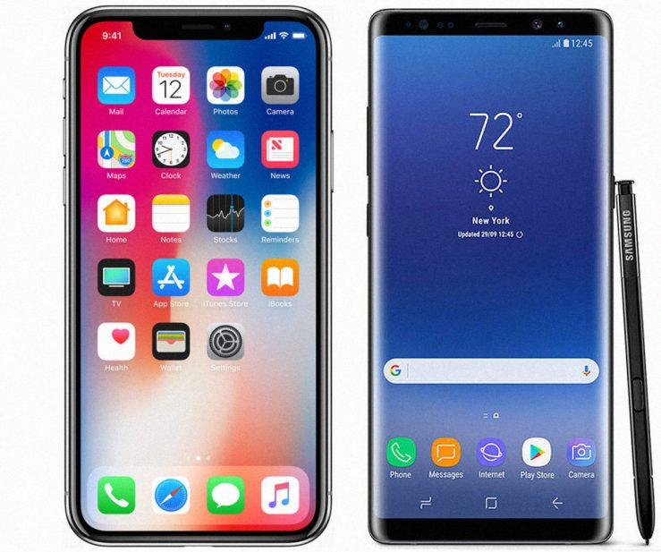 iPhone-X-vs-Galaxy-Note-8-739x617